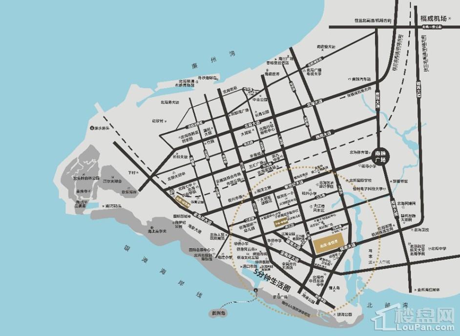 金悦湾区位图