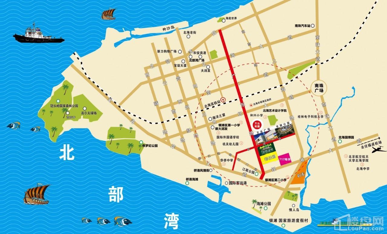 智弘银城绿洲区位图
