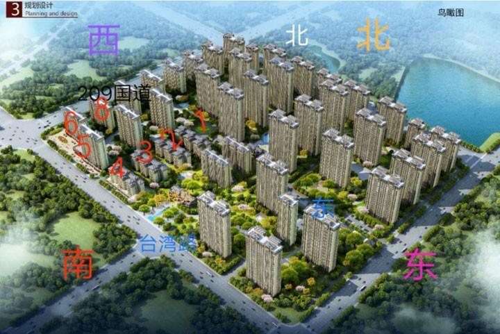 中电海湾国际鸟瞰图