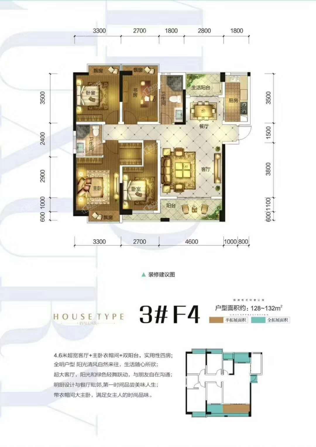 禧悦湾户型图6