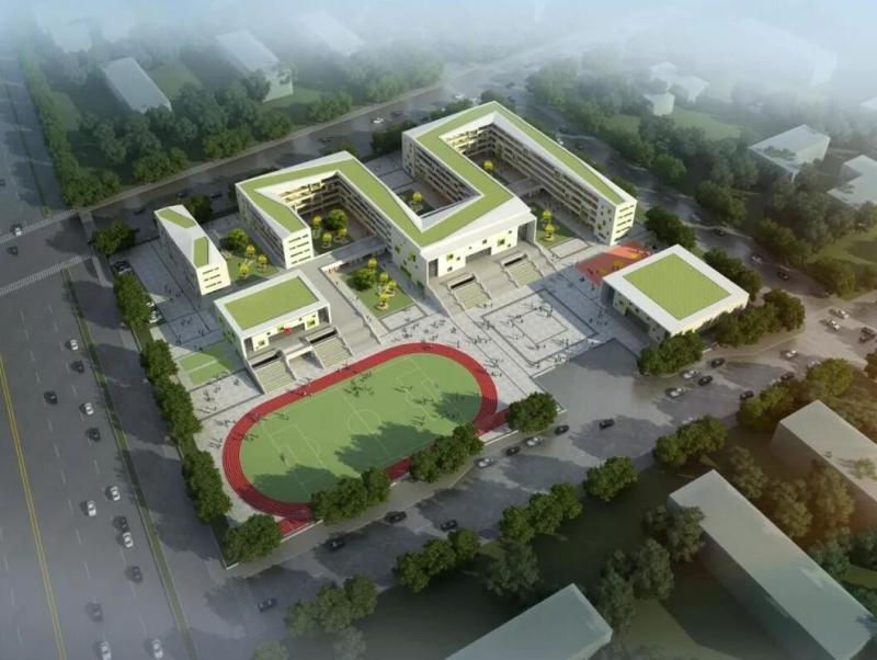 海城区第二小学南珠校区效果图