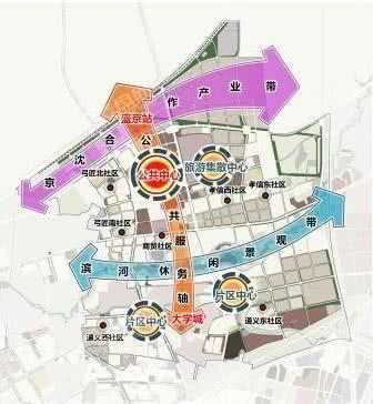 沈北新区道义板块规划