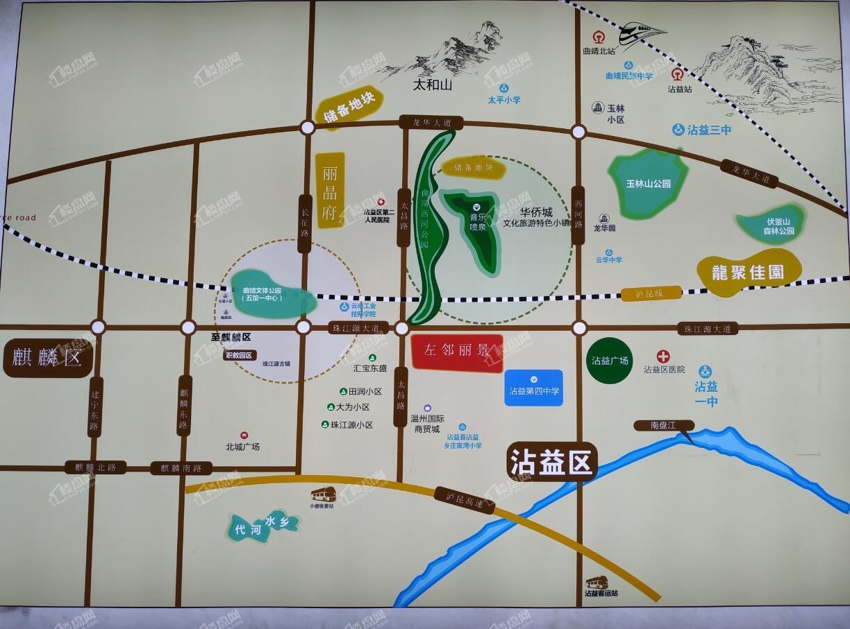 桐樂·左邻丽景区位图