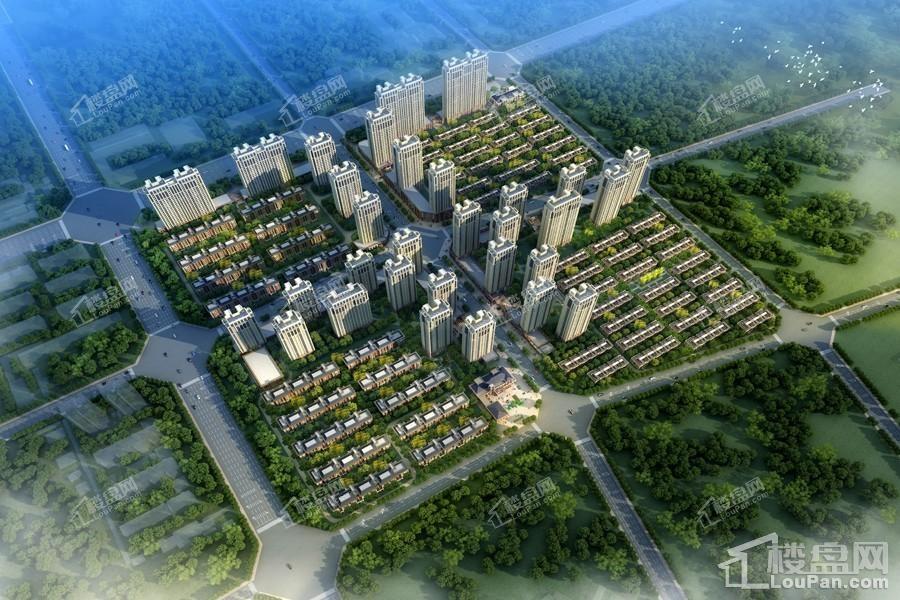 旭辉东樾城项目鸟瞰图