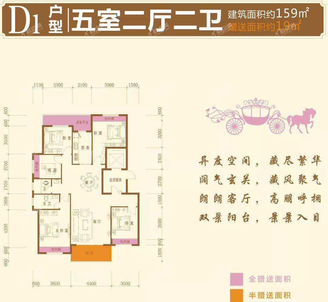 昱宏·珠江之星户型图4