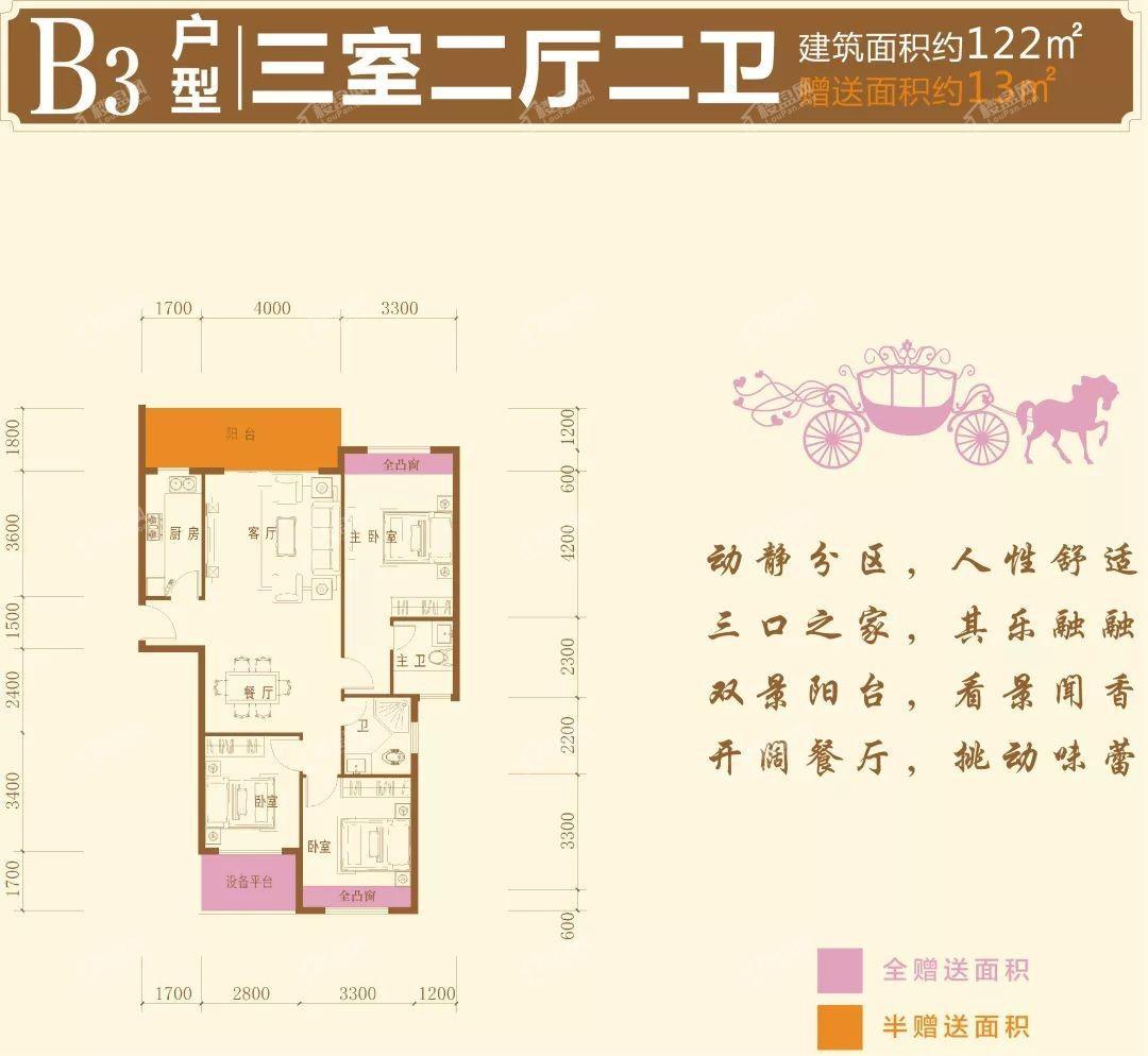 昱宏·珠江之星户型图2