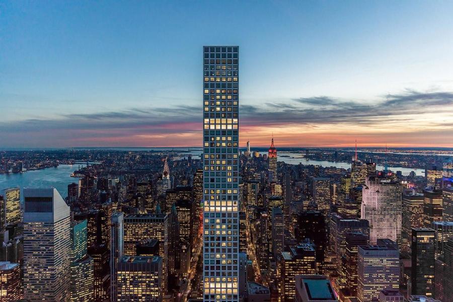 纽约第五大道432 Park Avenue西半球第一高住宅
