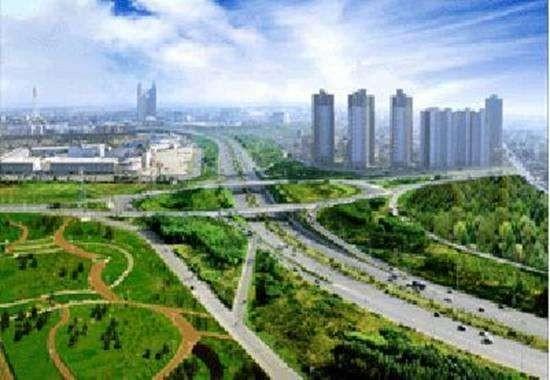 沈北新区鸟瞰图