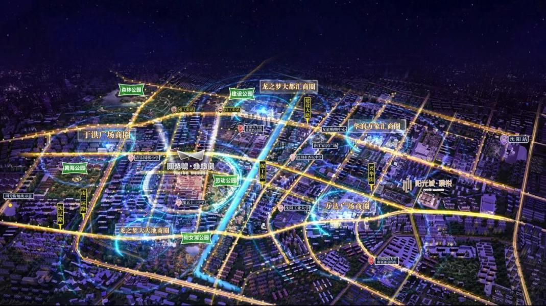 阳光城未来悦项目区位图