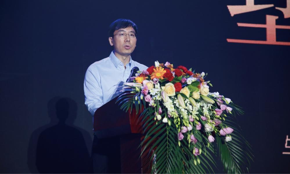中国中铁置业沈阳公司总经理于亚洲首先发表致辞