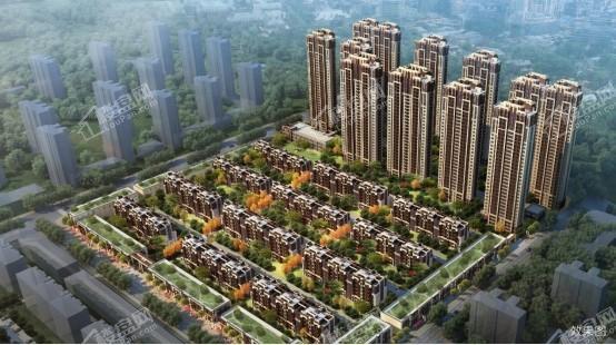 中海城项目鸟瞰图