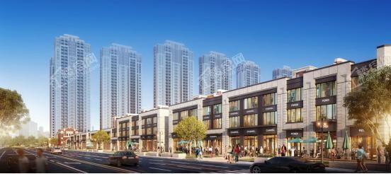 中海城项目商业效果图