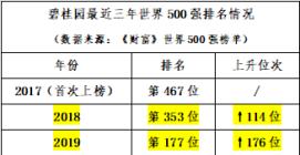 碧桂园再登《财富》世界500强 排名增幅高居榜单第一位
