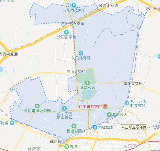 皇姑区地图