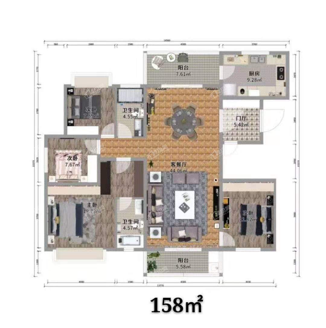 沾益印象五期六期住宅户型图2