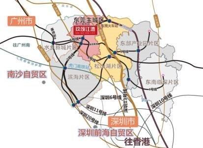 玖颂江湾交通图