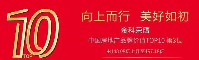 金科地产品牌宣传示意图