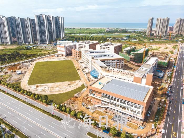 北京八中北海实验学校建设进入尾声!