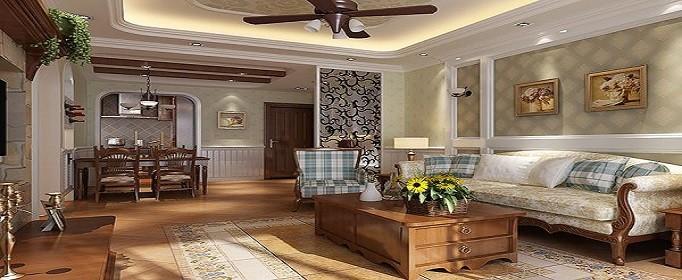美式装修风格样板房设计特点有哪些
