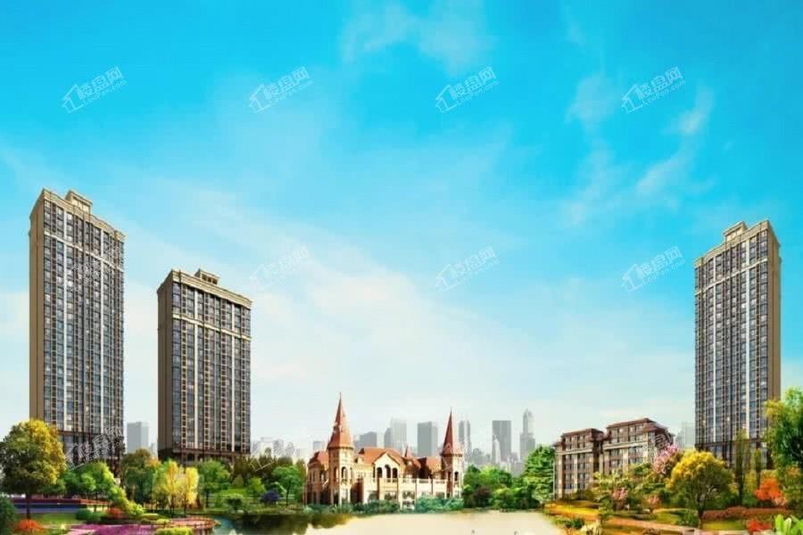 恒大盛京珺庭效果图
