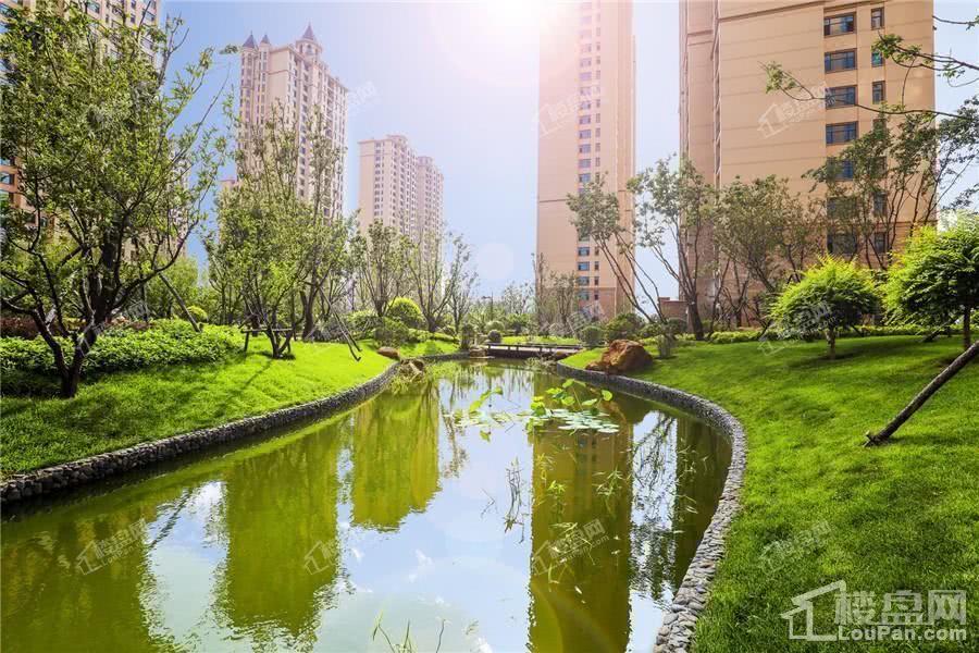 沈阳星河湾园区实景图