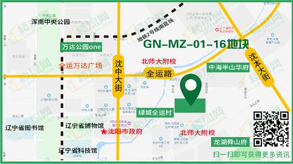 HN-19007 GN-MZ-01-16地块位置图