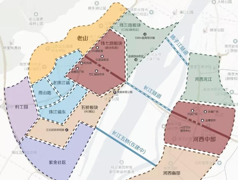 南京新城金陵樾在哪个板块?南京新城金陵樾板块发展如何?