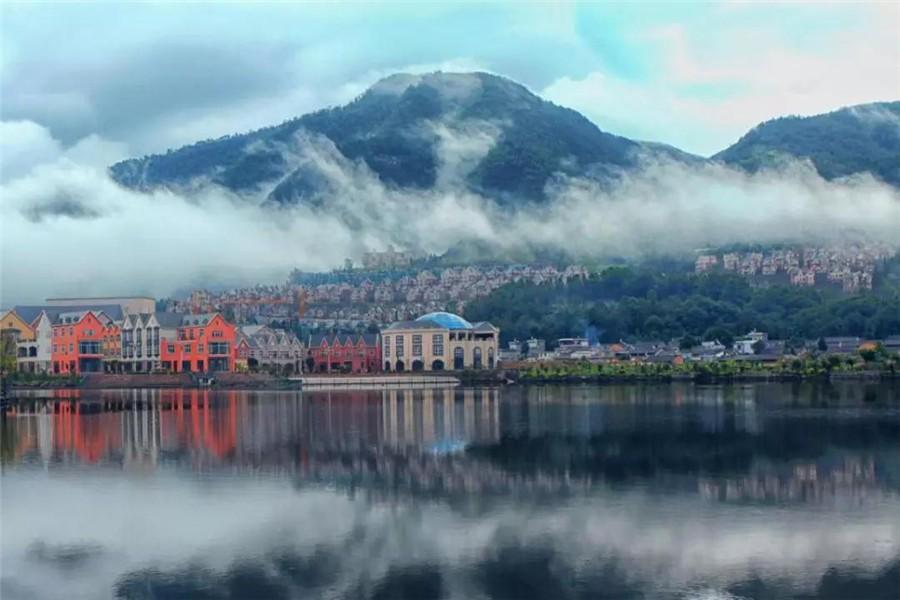 腾冲山语湖