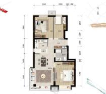 买房选好户型一步到位 北京临铁三居房源推荐