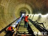 地铁5号线开始铺轨 距离开通又近一大步
