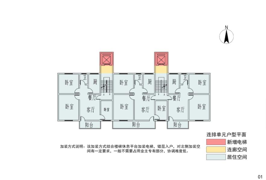 东莞市常见户型增设电梯平面布局示意图.png