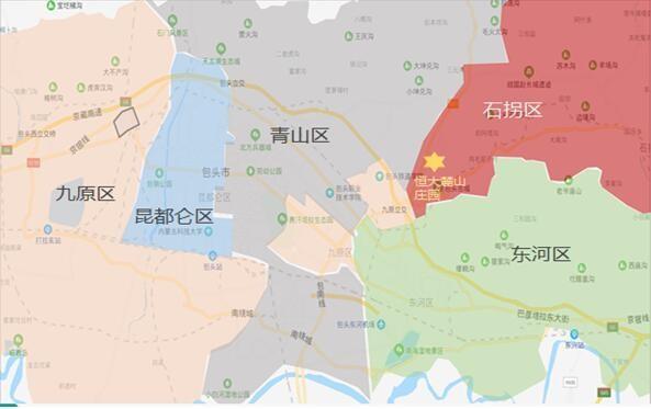 包头恒大麓山庄园丨千亩生态胜景45XX元/㎡起燃爆全城!