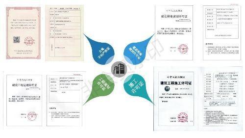涿州学府澜湾五证图片