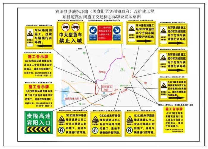 经常往返南宁宾阳的车友注意!这个路段将封闭施工到年底,禁止所有车辆通行!