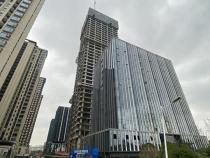 216米!绿地朝阳中心超高层即将封顶!还规划有2万㎡集中商业mall!