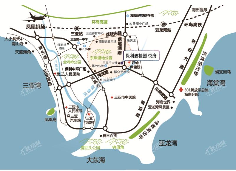 保利碧桂园悦府交通图.png