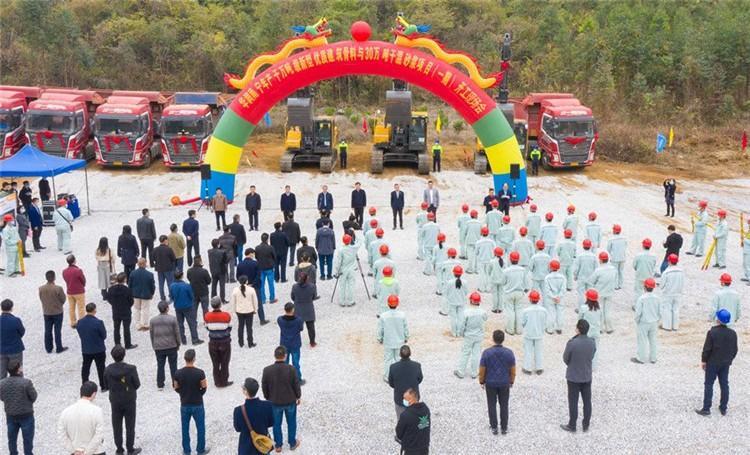 西乡塘区2个重大项目开竣工 总投资38亿元
