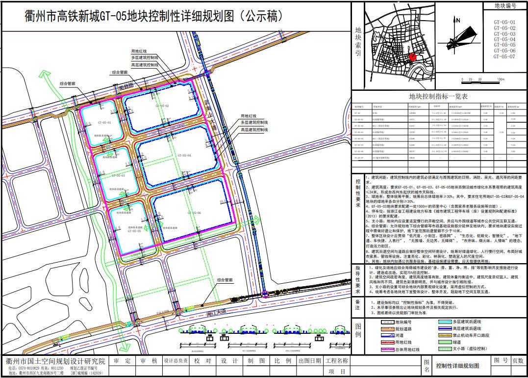 将建住宅、生鲜超市、幼儿园,高铁新城GT-05-18地块规划公示!