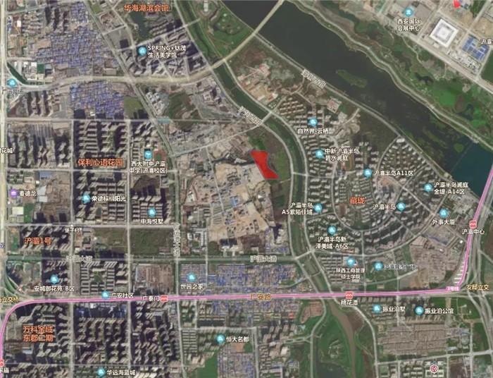西安市浐灞生态区1宗商业用地以底价2.925亿出让