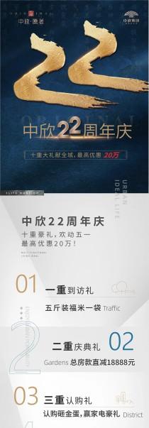 中欣集团22周年庆,十重大礼献全城