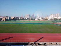 麒麟区社会足球场建设进入收尾