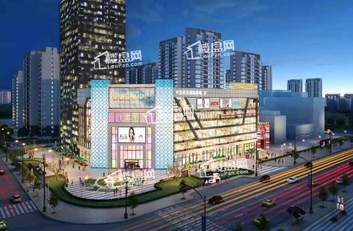 润丰国际商业广场效果图
