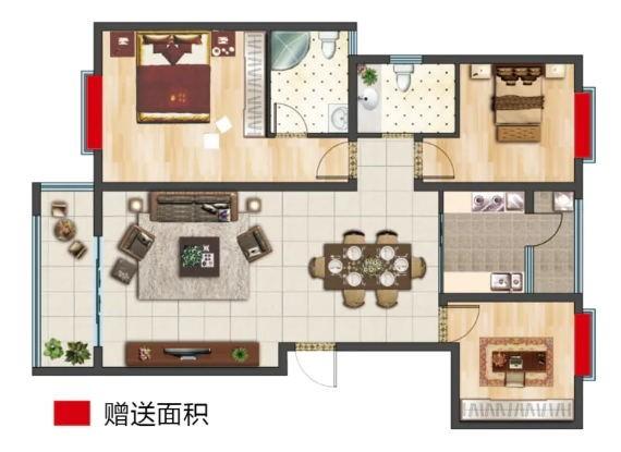 三房两厅一厨双卫双阳台 118.66㎡.jpg