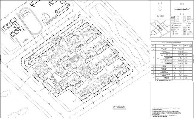 半岛公馆项目规划平面图