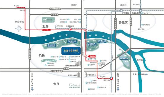 龙湖江与城区位图