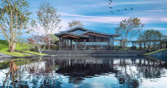 龙湖江与城效果图