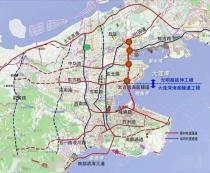 大连湾海底隧道最新进展:海底段突破1000米大关