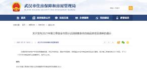 武汉市预计第三季度将有225个项目、973.31万平方米商品房可达销售条件,附详细清单!