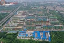 沧州荣盛城12盘最新施工进度图