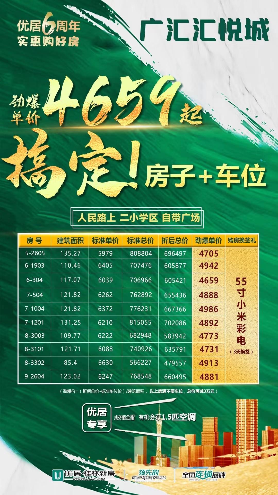 广汇汇悦城8月钜惠放送